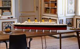 Lego vydá najväčšiu stavebnicu v histórii. Takmer meter a pol dlhý Titanic pozostáva z 9 090 dielov