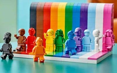Lego vyrába prvú LGBT stavebnicu. Dúhovo sfarbené figúrky majú šíriť myšlienku, že každý z nás je úžasný