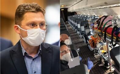 Lekár Visolajský: Pacientov teatrálne prevážame vládnym špeciálom, ale slovenských lekárov posielame na neplatené voľno