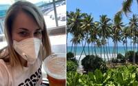 Lekárka o návrate z dovolenky: Jediný rozdiel bolo menej ľudí a viac dezinfekcie na letiskách. Teplotu nikto nemeral
