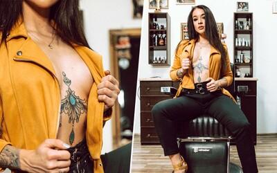 Len 22-ročná Radka je najlepšou barberkou na Slovensku. V budúcnosti chce zostaviť čisto ženský tím