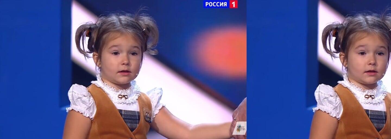 Teprve 4letá Ruska ohromila svět znalostí sedmi jazyků. Maličká Bella by se ve světě neztratila