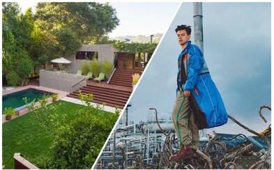 """Len niečo vyše troch rokov vlastnil Harry Styles honosné sídlo v Beverly Hills. Predať sa mu ho """"podarilo"""" s miliónovou stratou"""