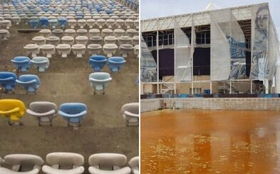 Jen rok po olympiádě jsou sportoviště v Riu zdevastovaná. Obrovské projekty jsou již nyní odsouzené k smrti