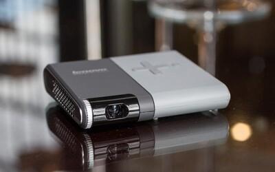 Lenovo predstavilo vreckový projektor so 110-palcovým obrazom a dvojhodinovou výdržou