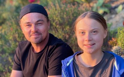 Leonardo DiCaprio: Greta Thunberg je líderkou dnešnej doby a budíček pre svetových lídrov