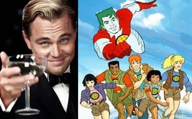 Leonardo DiCaprio pracuje na celovečernom filme o klasickom animáku Captain Planet