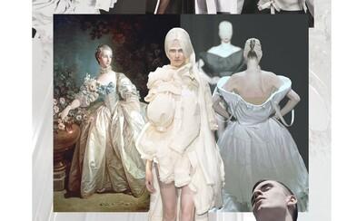 Lesk rokoka v spojení s modernou dobou prinesie dizajnérka Kristína Vavrová v novej kolekcii Obscure na Fashion LIVE!