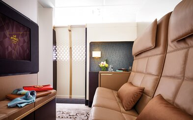 Let za půl milionu korun v nejluxusnějším letadle Airbus A380? Čeká tě dlouhý pořadník či speciální apartmán