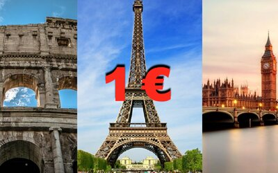Letenky za 1 €! WizzAir teraz ponúka extrémne zľavy, vďaka ktorým za euro preletíš celú Európu