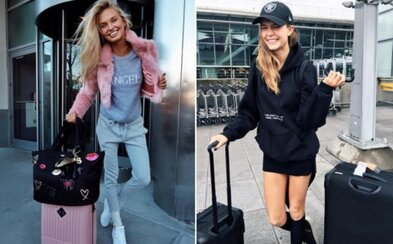 Letiskový štýl modeliek z Victoria's Secret: Inšpiruj sa pri cestovaní outfitmi najkrajších žien sveta