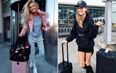Letištní styl modelek z Victoria's Secret: Inspiruj se při cestování outfity nejkrásnějších žen světa