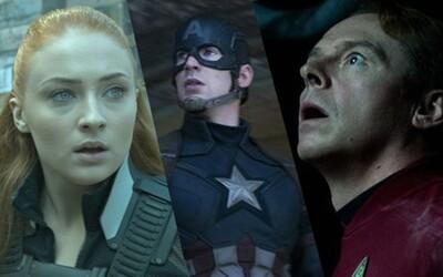 Letné blockbustery, komiksovky a veľkolepé sci-fi zachytené na celkom nových obrázkoch