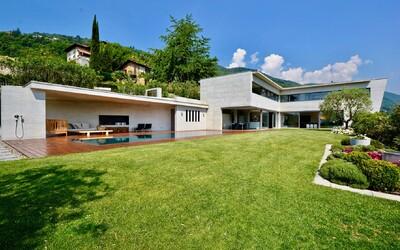 Letní sídlo u jezera ve Švýcarsku je ztělesněním těch nejtajnějších snů o dokonalém bydlení