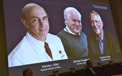 Letošní Nobelovu cenu za medicínu získali výzkumníci, kteří objevili virus Hepatitidy C