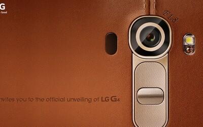 LG G4 se představí koncem měsíce. Přinese revoluční fotoaparát?