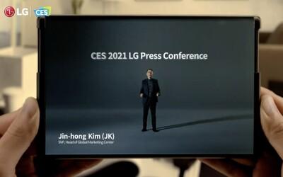 LG i TCL ukázaly smartphony s rolovacím displejem. Vypadají, jako kdyby je používal Tony Stark