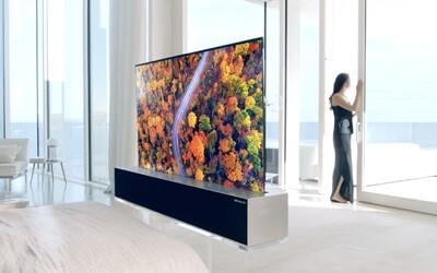 LG má televízor s rolovacou obrazovkou. Stojí toľko, čo tri bežné autá