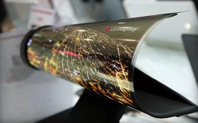 LG predstavilo fungujúci ohýbateľný displej, ktorý stačí zrolovať ako noviny. Bude to takto vyzerať onedlho aj u teba doma?