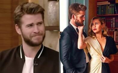 Liama Hemswortha dojala Miley Cyrus takmer až k slzám, keď si vzala jeho priezvisko po svadbe