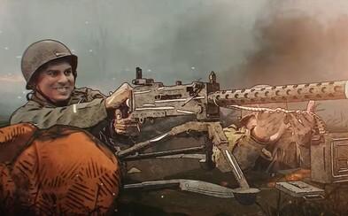 Liberator experimentuje s revolučnou animáciou. Film o hrôzach 2. svetovej vojny ťa dostane už prvým trailerom