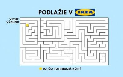 Lidé na internetu se podělili o nejvtipnější momenty z Ikey. Prodejny jsou jednoduše hotovým bludištěm