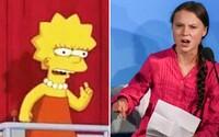 Lidé na sociálních sítích tvrdí, že Simpsonovi opět předpověděli budoucnost. Tentokrát ve spojení s Gretou Thunberg
