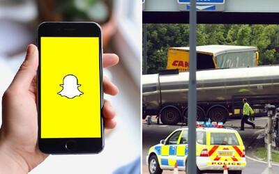 Lidé riskují život kvůli výzvě na Snapchatu. Zasahovat musela i policie