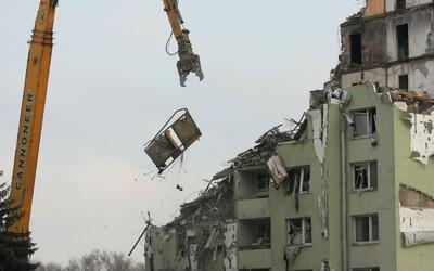 Lidé z Prešova se na neštěstí v podobě zřícené bytovky nemohou ani podívat, Vánoce budou trávit v jiných částech Slovenska