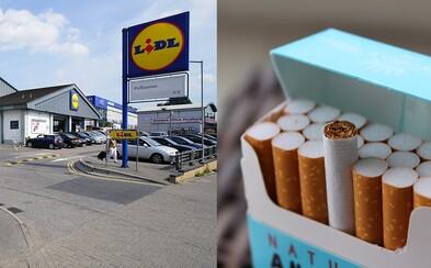 Lidl je první supermarket, který už nebude prodávat cigarety. V Nizozemsku přistoupili k radikálnímu kroku