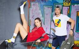 Lidl představil limitovanou kolekci svého merche. Novému oblečení dominuje charakteristické logo
