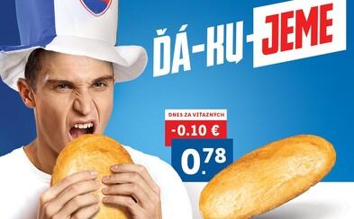 Lidl reaguje na výhru Slovenska: Chlieb bude celú sobotu lacnejší o 10 centov