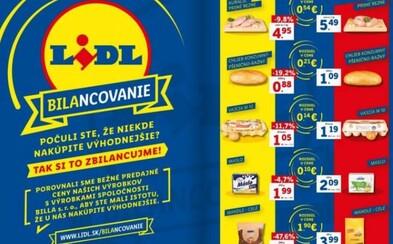 Lidl ukazuje Slovákom, že je lacnejší a porovnáva svoje ceny s Billou. Tá vysmieva poľské mäso