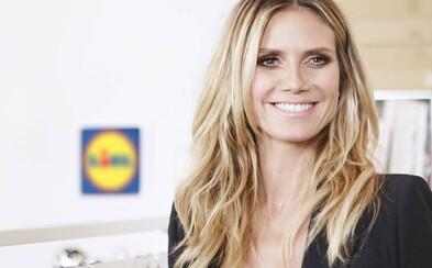 Lidl uvedie do predaja kolekciu oblečenia navrhnutú modelkou Heidi Klum. Spúšťajú tiež pravidelné týždne módy