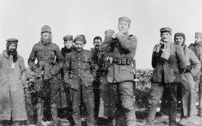 Lidský soucit a pochopení aneb jak se slavily Vánoce v zákopech první světové války
