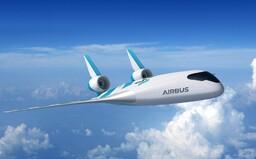 Letadlo jako z futuristického filmu. Nový Airbus by měl ušetřit až 20 % paliva