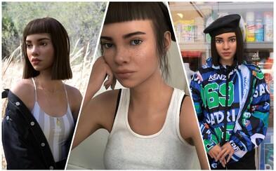 Lil Miquela: Virtuální módní hvězda s více než milionem followerů na Instagramu