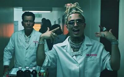 Lil Pump si do nového videoklipu Drug Addict pozval Charlieho Sheena, ktorý si zahral lekára na psychiatrii