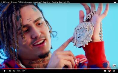 Lil Pump ukazuje zbierku šperkov za niekoľko stoviek tisíc dolárov