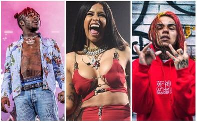 Lil Uzi Vert, Cardi B či 6ix9ine. 10 interpretov, ktorí minulý rok vyleteli medzi hviezdy hudobného priemyslu