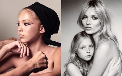 Lila Moss ide v modelingových šlapajách svojej mamy. Za sebou má prvú veľkú kampaň