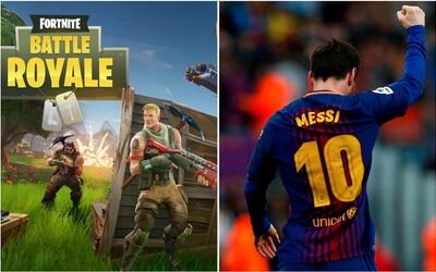 Lionel Messi a Sergio Agüero neodolali známé hře, reprezentační přestávku si zpříjemňovali hraním Fortnite