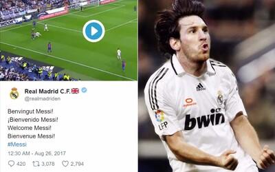 Lionel Messi do Realu Madrid. Hackeri sa počas leta nudia a dostali sa aj ku sociálnym sieťam bieleho baletu