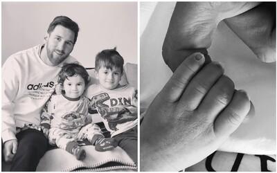 Lionel Messi s ďalším hattrickom. Dnes sa jeho rodinka rozrástla o syna Cira