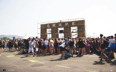 Lístky na Grape sú na oficiálnom webe vypredané. Posledných zopár kusov kúpiš v kamenných predajniach