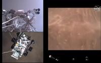 LIVE: NASA vysiela unikátne video z pristátia na Mars