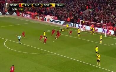 Liverpool napodobnil zázračnú noc z Istanbulu a proti Dortmundu postúpil do semifinále. Nezastavila ho ani potreba streliť tri góly!
