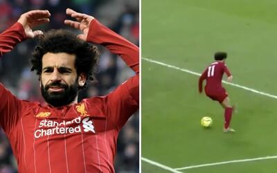 Liverpool neprehral už 34 zápasov v rade. Mo Salah zariadil víťazstvo efektnou pätičkou