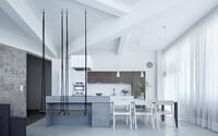 Loftové bydlení z Česka, jehož minimalistický design tě ohromí hned na první pohled
