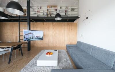Loftové bývanie v našom hlavnom meste? RULES Architekti vám ukážu ako na to skrz zábery z ružinovského príbytku